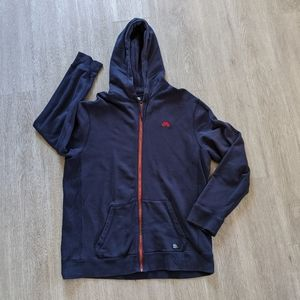 Nike SB Navy w/Red Accent Zip-Up Hoodie SZ Large